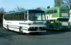 1984-04-28 KRU 441P Bedford YRT-Willowbrook of Acheson,  Ripon (delticalco) Tags: bus buses independent spacecar shamrockrambler northeastindependent