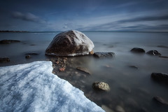 Ice cold (timcorbin) Tags: longexposure winter snow ontario ice canon whitby leefilters