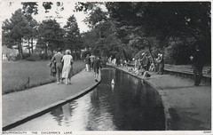 Bournemouth - Childrens Lake (pepandtim) Tags: postcard old early nostalgia nostalgic bournemouth childrens lake photochrom london tunbridge wells 20081927 1927 jones gabriels vicarage cricklewood 45bcl43 yootha joyce needham wandsworth actress mildred roper british sitcom man about house spinoff george 24081980 1980 liver failure inquest death brandy max bygraves 14011981 1981