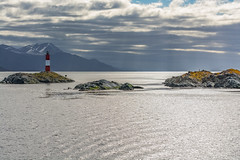 The Lighthouse at the End of the World (m.gallenkamp) Tags: patagonia lighthouse argentina clouds tierradelfuego ushuaia landscapes seascapes leuchtturm findelmundo argentinien feuerland patagonien