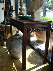 "19TH CENTURY CHINESE ALTAR TABLE, REDUCED FEET. • <a style=""font-size:0.8em;"" href=""http://www.flickr.com/photos/51721355@N02/28560340251/"" target=""_blank"">View on Flickr</a>"