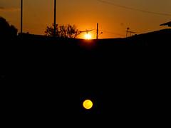 Sun moon (lusameinberg) Tags: sun moon