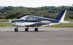 G-BCJN (goweravig) Tags: gbcjn piper warrior swansea wales uk visiting aircraft swanseaairport