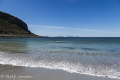 Alnes (rjonsen) Tags: alnes giske shore shorebreak water sea blue sky foam cloud norway sunnmore sunnmre wide angle