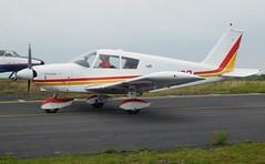 G-AVSD (goweravig) Tags: gavsd piper cherokee pa28 swansea wales uk swanseaairport visiting aircraft