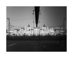 DUALISM I Dualizmus (krisztian brego) Tags: olympus omd em10 leica dg summilux 15f17 budapest parliament architecture m2 metro subway station building glass reflection