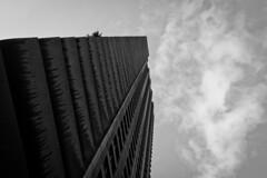 Barbican (Shane_Henderson) Tags: barbican canonefs1755mmf28isusm canoneos350d england unitedkingdom london gb building street upwards sky abstract