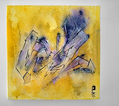 Yellows vs Violets / mixmedia on canvas 30x30 cm (adel_one2wh) Tags: graffiti graffuturism artwork canvas colors yellow violet handmade handpainted lines graphic cracow krk poland polska artgallery modernart art abstract montanacans spraypaint spray marker writing graffitiwriter adelone2wh adel1 adelone 2wh interior interiordesign gallery letters handstyler acrylic handstyle