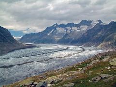 Grosses Wannenhorn (3906 m) al tramonto (ceszij) Tags: aletsch jungfrau lucieombre ghiacciaio glacier ghiaccio wannenhorn