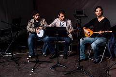 Trio of musicians (Jan Herremans) Tags: antwerpen belgium janherremans candid musician morroco essaouira