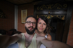 IMG_1477 (Two people two cameras) Tags: indonesia bali asia travel photography photo nature selfie morning couple people sleepy canon wideangle