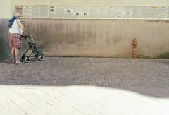 Timeline (p$ychoboyJ@ck) Tags: old oldman man time timeline italy italia anziano anziani uomo tutore streetphotography liguria shadows ombra ombre