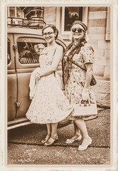 1940's Ladies (Have Cam Will Travel.) Tags: 1940s warweekends portraits people reenactors costume