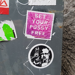 set your pussy free (Exile on Ontario St) Tags: sticker montral pink collant autocollant feminism activist activism fminisme fministes feminists manifesto women mailbox mail box postescanada poste postes autocollants collants stickers montreal setyourpussyfree rose square squareformat marlonbrando godfather marlon brando set your pussy free vieuxmontral oldmontreal woman pussypower activisme