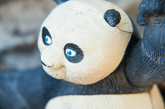 Closeup of Kung fu Panda (rpennington9) Tags: closeup macro panda toy kungfupanda closeuplens nikon nikond90 101macrolens tennessee chattanooga