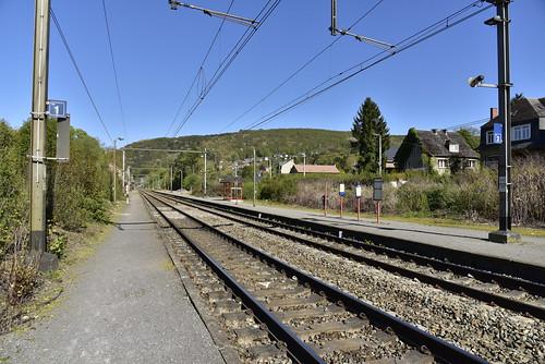 La gare de Godinne