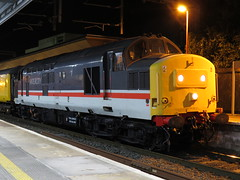 37254 INTERCITY on 3Q18 Crewe C.S. (L&Nwr Site) - Derby R.T.C. at Stockport 23/09/2016 (37686) Tags: 37254 intercity 3q18 crewe cs lnwr site derby rtc stockport 23092016