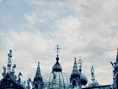 basilique San Marco (Mon Cabinet de Curiosits - Izzy) Tags: venise venezia venice italie detail sans marco basilique saint marc nylonbleu