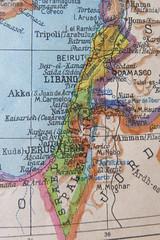 Israel - Palestina (Micheo) Tags: mapas maps atlas mundo cambios changes book libro
