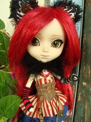 Fake outfits - Cheshire Cat Steampunk (Lunalila1) Tags: doll groove junplaning pullip grell alison grendel