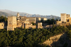 alhambra at day (Jonatan Cunha) Tags: spain granada andaluzia alhambra alambra erasmus trip vacance travel pointview miradouro vista landscape