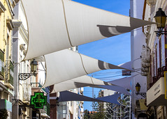 Faro (Hans van der Boom) Tags: holiday vacation europe portugal faro algarve sushade street triangles mathmatic pt