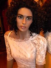 Mannequin (capricornus61) Tags: rootstein almax display mannequin shop window doll dummy figur puppe model plastic woman women female feminine frau portrait face body art home indoor hobby collecting