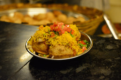 Sev Puri (Rajat's Lens) Tags: sev puri indian snack food streetfood chaat