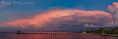 Bokeelia Sunset (tropicdiver) Tags: bokeelia florida pineisland clouds dock gulfofmexico pier pineislandsound reflection southwestflorida sunset