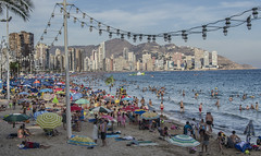 Benidorm (pelpis) Tags: beach beautiful people scene streetscene street humans summer benidorm spain valencia city cityscape urban urbanlandscape urbanscene urbanscape underwater
