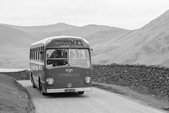 LAO145 Cumberland 151 (lenmidgham) Tags: 1960sbus bwscan cumberland ecw leyland