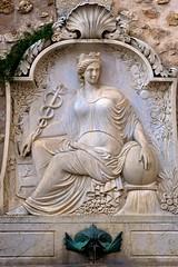 Grasse (tm-tm) Tags: france fountain grasse relief statuary alpesmaritimes provencealpesctedazur