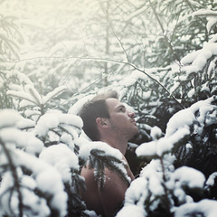 snowman. (stefanheider) Tags: wood schnee trees light boy sun white snow man cold love me canon 50mm licht fan flickr 14 sunny it best page today sonne wald ich bume selbstportrait heute facebook markii selfie sonnenschein halt weis flickrpic stefanheider