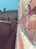 brick (sammwidge) Tags: old brick buildings walk wide wideangle fisheye auckland gutter unitec perspectiv ptchev gopro oldhospital