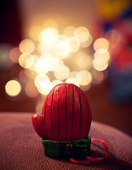 Mittens! {Explored!} (Proleshi) Tags: christmas colors sunglasses 50mm lights nikon bokeh shades christmaslights ornament multicolor josephs mitten jamal 50mm14afs proleshi