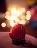 Mittens! {Explored!} (Proleshi) Tags: christmas colors sunglasses 50mm lights nikon bokeh shades christmaslights ornament multicolor josephs mitten jamal 50mm14afs proleshi