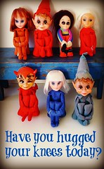 Well.....have you??? (DollyBeMine) Tags: christmas eye girl vintage toy big stuffed mod 60s doll decoration pixie collection plastic elf devil eyed 1960s elves kamar dikkens kneehugger