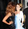 "Featuring: Melanie Brown, Geri Halliwell.Spice Girls at the ""Viva Forever"" VIP night held at the Piccadilly Theatre"