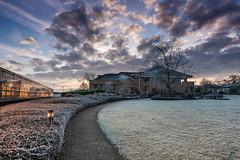 Jealott's Hill on a Frosty Dawn (Ian Hayhurst) Tags: dawn rimefrost canonef24105mmf4lisusm jealottshill