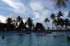 Swimming Pool of PIC,  Tumon Bay, Guam, USA (Luke,Ma) Tags: usa digital america four lumix bay power g united olympus x m panasonic f micro 28 states asph f28 guam 43 omd territory thirds tumon the gx   ois 1235 vario m43 em5  1235mm 1235mmf28 hhs12035 hs12035
