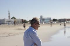 Dad At Jumera.I (Jonny Cairns) Tags: trip sea sun holiday beach sand dubai journey whitesand daytrip jumera