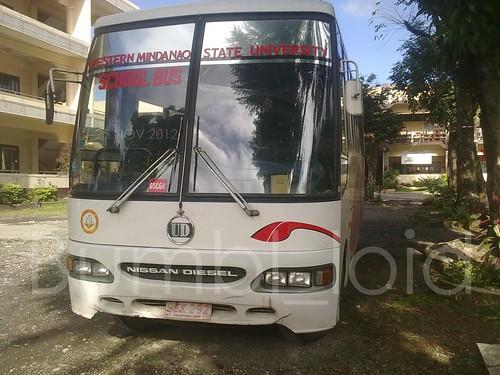 WMSU SCHOOL BUS   NISSAN DIESEL UD (customized By Santa Rosa   Philippines)  7