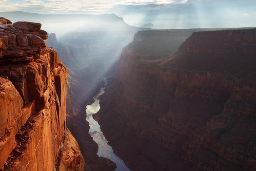 Touched by Light - Toroweap, North Rim - Grand Canyon