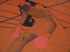 As incríveis aventuras do boxeador que não está tendo mais cabeça para o boxe. WIP - Reis do ringue (AlexandreJr) Tags: illustration pen poster do fighter drawing reis marker boxing boxe marcador hidrocor ringue