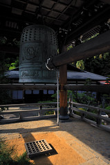 The Bell (RomImage) Tags: alps japan temple grid japanese nikon shrine asia village bell religion buddhism nobody valley narai kiso kisovalley d700