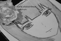 IMG_5882 (sara.abdulalrhman) Tags: تصوير عبدالرحمن ساره زرقاء رسمة وعيون احادي العصبيه