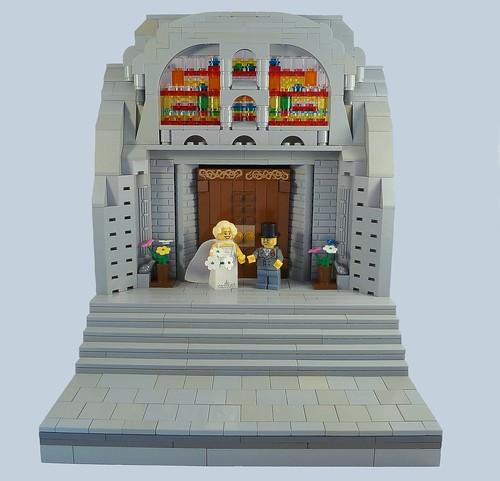 Lego Wedding Altar: Flickriver: Lego MOC Feedback Pool