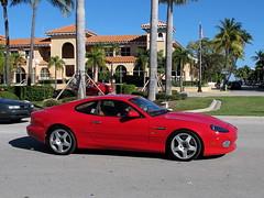 Aston Martin DB7 Vantage (AJ Ferrari) Tags: cars beach mercedes benz martin lotus florida ferrari palm exotic porsche rolls worth morgan avenue audi lamborghini royce bentley aston vantage db7 carspotting