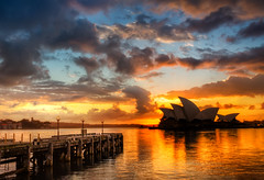 Opera House and the Docks (Stuck in Customs) Tags: city travel sunset reflection water architecture digital photography pier blog high interesting dock dynamic stuck sydney australia september hyde photoblog software processing newsouthwales imaging tasman range commonwealth metropolitan hdr tutorial trey travelblog nealstephenson 2012 customs portjackson ratcliff hdrtutorial stuckincustoms treyratcliff photographyblog stuckincustomscom nikond800