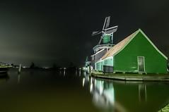 De Huisman (a3aanw) Tags: nacht hdr molen zaanseschans zaandijk